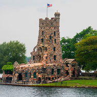 Boldt Castle, constructed by George Boldt for his wife.