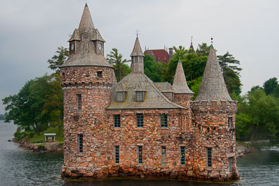 Thumbnail image of Boldt Castle, constructed by George Boldt for...