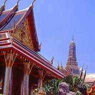 Buildings around the Grand Palace.