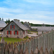 Fort Michilimackinac.
