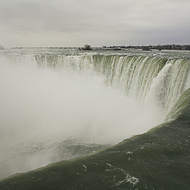 A winter s day at Niagara falls.