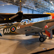 Spitfire mk9 with clipped wings.