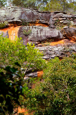 Thumbnail image ofSandstone walls of Russell Gully.