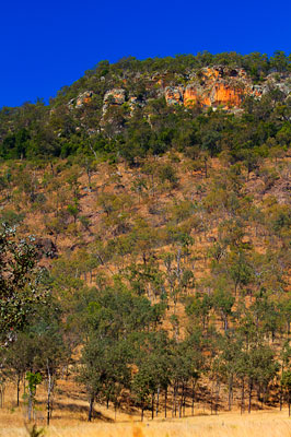 Thumbnail image ofSandstone crags of the western side of Cania Gorge.