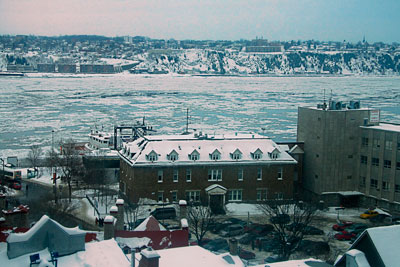 Thumbnail image of Icy St. Lawrence River.