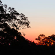 Mount Gravatt sunset.