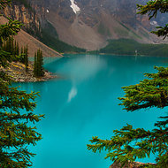 Moraine Lake showing off.