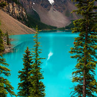 Moraine Lake reflection.