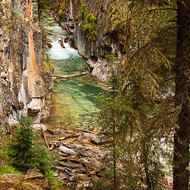 Upper Johnston Canyon.