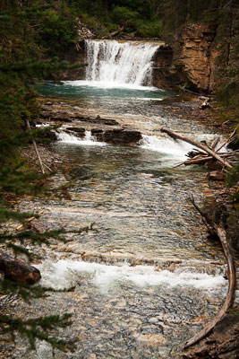 Thumbnail image ofWater fall on the Upper Johnston river.