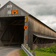 The Patrick Owens Covered bridge.