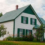 Green Gables, the home of Anne of Green Gables.