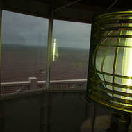 Looking out over Northumberland Strait from the West Point Lighthouse.