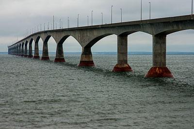 Thumbnail image ofConfederation Bridge linking Prince Edward Island...