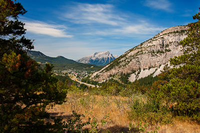Thumbnail image ofCrowsnest Pass at the site of the Hillcrest Mine...