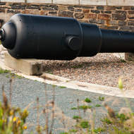 Cannon F17 at the Halifax Citadel.