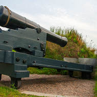Cannon, no longer in service at the Halifax Citadel.