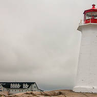 Peggy s Cove lighthouse.