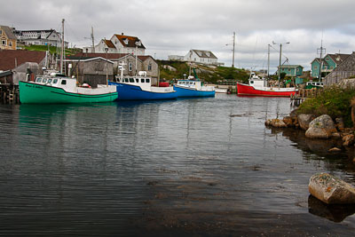 Thumbnail image ofThe small fishing port at Peggy's Cove.