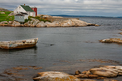 Thumbnail image ofEntrance to the fishing port at Peggy's Cove.