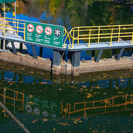 Lock 42 on the Trent-Severn Waterway.