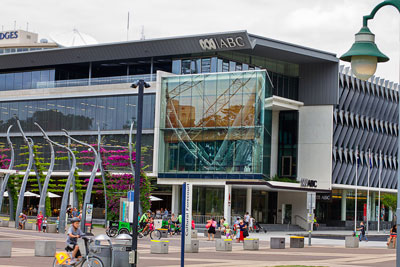 Thumbnail image ofThe Brisbane studios and offices of the ABC, the...