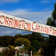 Welcome to the Torrington Caravan Park.