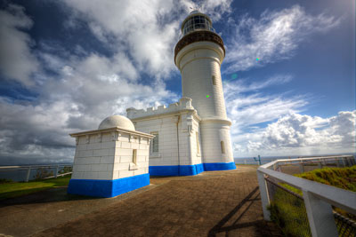 Thumbnail image ofCape Byron lighthouse, stands at the easternmost...