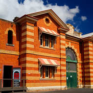 Front of the Old Boggo Road jail.