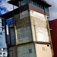 Guard tower extension beside the Old Boggo Road jail.