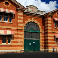 No exit, Old Boggo Road jail, initially H.M. Prison for Women, later for Men.