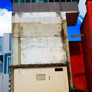 External guard observation tower at the Old Boggo Road jail.