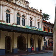 Brisbane's central railway station.