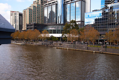 Thumbnail image of Southbank on the Yarra river.