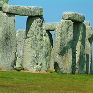 Ancient mystical stones of Stonehenge.