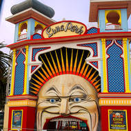 Luna Park, just for fun, closed for renovations.