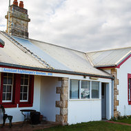 The Cape Schanck assistant lighthouse keeper's quarters.