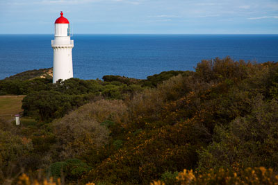 Thumbnail image ofCape Schanck lighthouse faces out south over Bass...