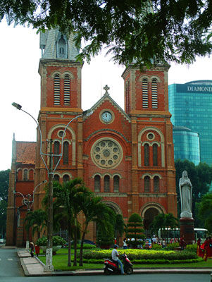 Thumbnail image ofSaigon's version of Notre Dame cathedral.