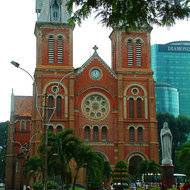 Saigon's version of Notre Dame cathedral.