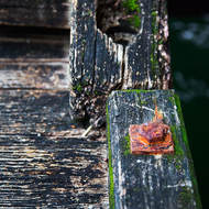 Colors and textures on Port Melbourne pier.