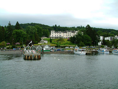 Thumbnail image ofBelsfield hotel at the Bowness ferry terminal...