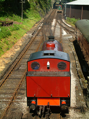 Thumbnail image ofSteam locomotive of the Lakeside and Haverthwaite...