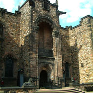 Scottish National War museum in Edinburgh Castle, in memory of scots who fell 1914 - 1918.
