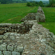 Gateway in Hadrian's Wall.