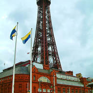 The Blackpool Tower.