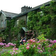 Beatrix Potter's farmhouse.