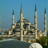 Sultan Ahmet Mosque, popularly called the Blue Mosque.