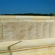 Lone Pine cemetery and memorial to the ANZACs on the Gallipoli (Turkish Gelibolu) peninsula.