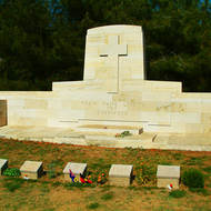 Memorial to the ANZACs on the Gallipoli (Turkish Gelibolu) peninsula.